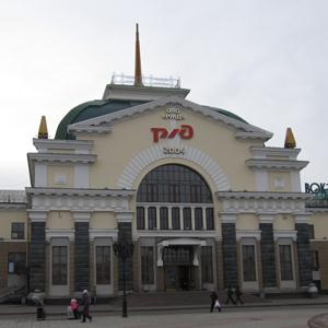 Железнодорожные вокзалы Мухоршибири